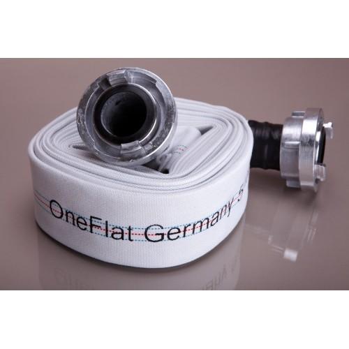 Пожарникарски маркуч OneFlat Germany окомплектован със щорцове * 20 m