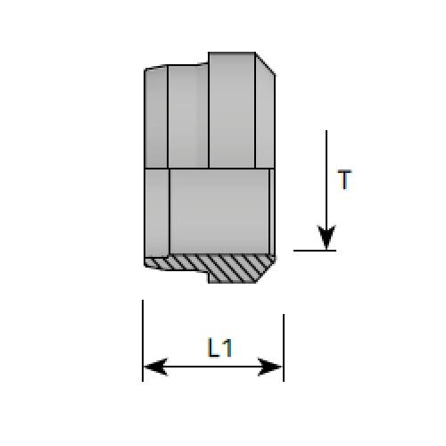 Пръстен врязващ, DIN 2353 - конус 24°